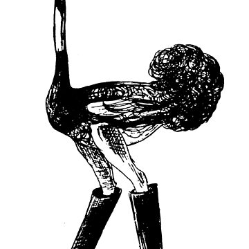 Ostrich in Boots by traviswall