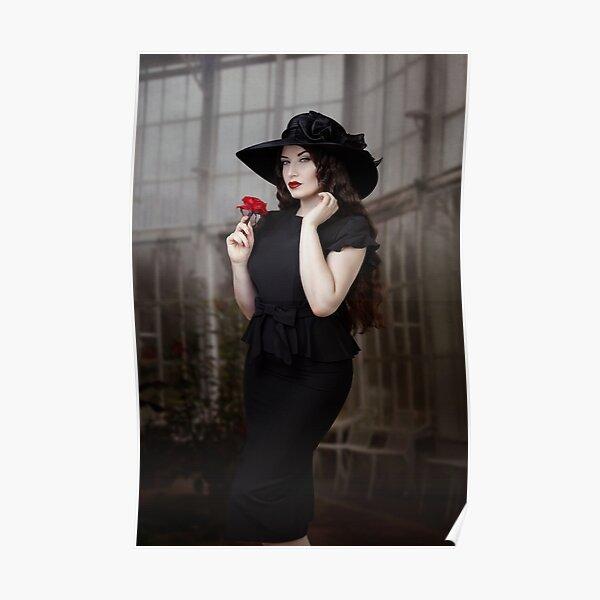 Schwarze Witwe Poster