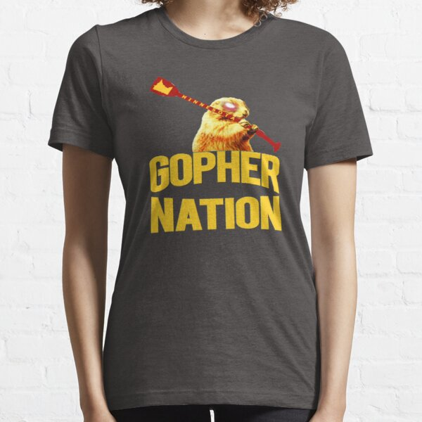 Gopher Nation Football Mens Womens Kids Essential T-Shirt