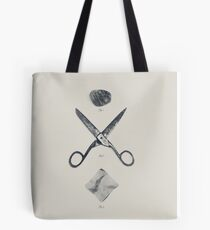 ROCK / SCISSORS / PAPER Tote Bag