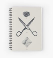 ROCK / SCISSORS / PAPER Spiral Notebook