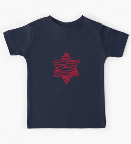 big red star Kids Clothes