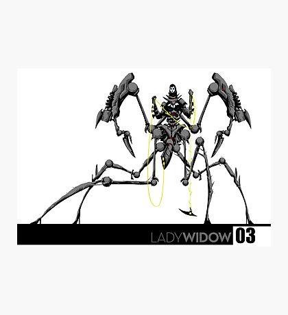 Killborg03: The Lady Widow Photographic Print