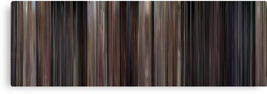 Moviebarcode: Back to the Future (1985) by moviebarcode
