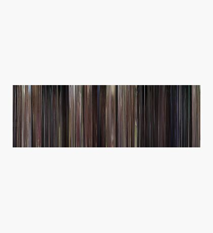 Moviebarcode: Back to the Future (1985) Photographic Print