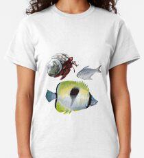 Camiseta clásica Más allá del mar