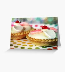 Polka dots and Pie Greeting Card