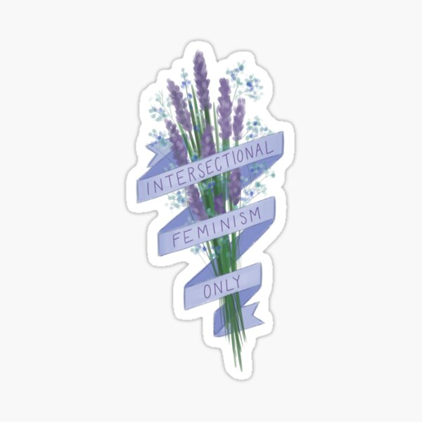 Intersectional Feminism Only Sticker