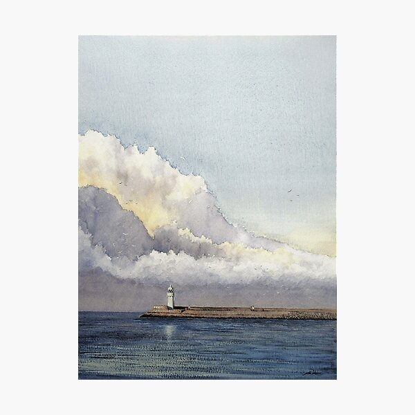 Incoming storm Photographic Print