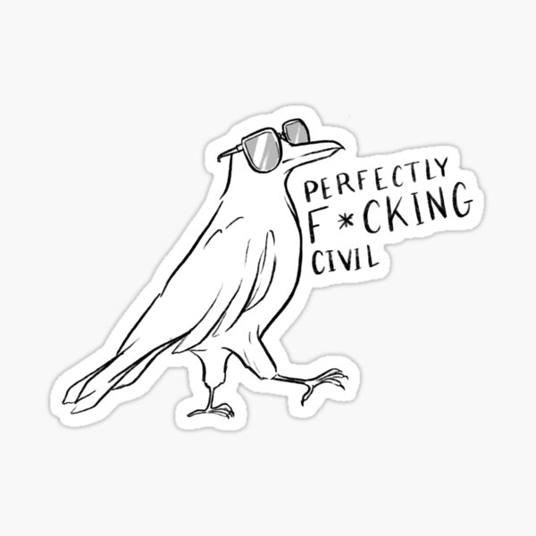 Ronan Lynch Chainsaw Sticker