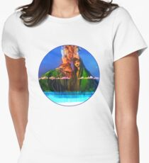 I have a lava dream Womens Fitted T-Shirt