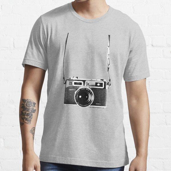 Vintage 35mm Rangefinder Camera Yashica Electro 35 GSN Essential T-Shirt