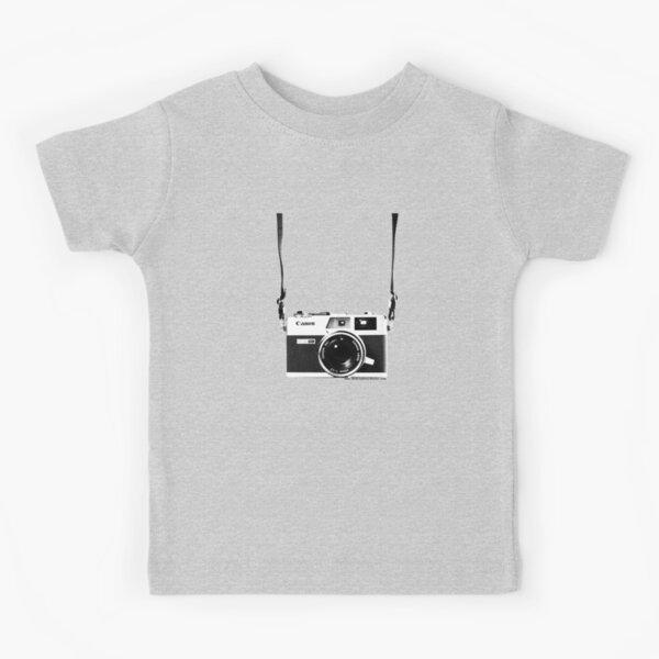 Vintage 35mm Rangefinder Camera Canon Canonet QL17 GIII Kids T-Shirt