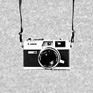 Vintage 35mm Rangefinder Camera Canon Canonet QL17 GIII by AnalogSoulPhoto