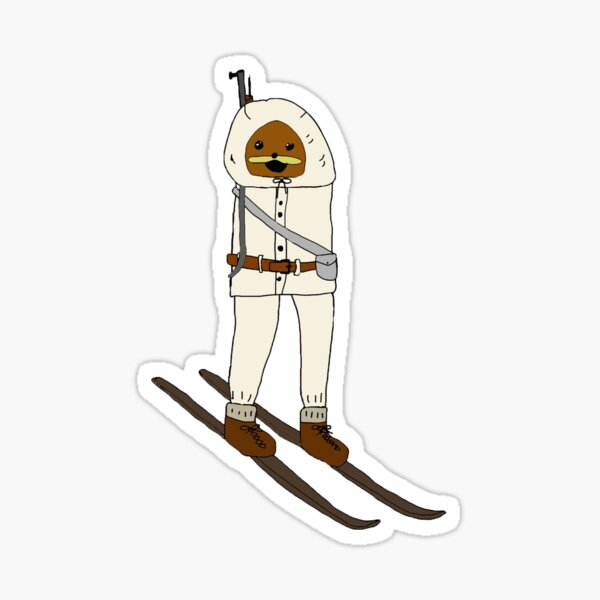 finnish spurdo ski trooper Sticker