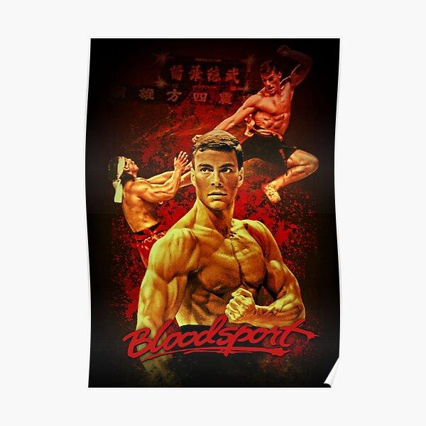 "Van Damme ""Bloodsport"" Poster"