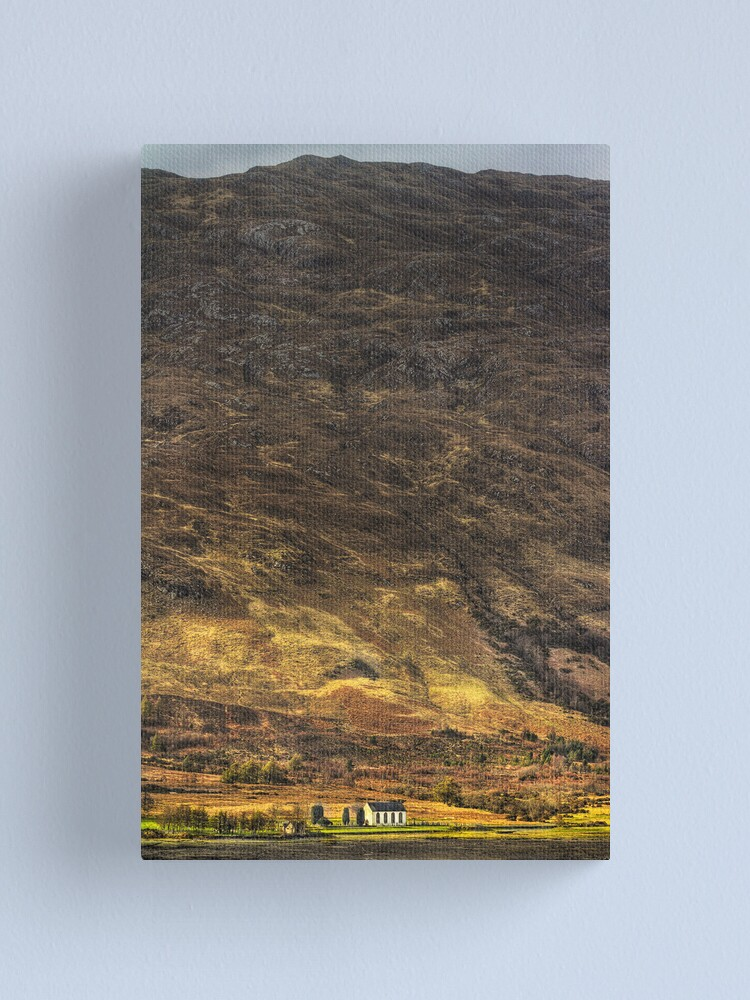 Alternate view of The Kirk by the Hill (2) Canvas Print
