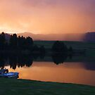Drakensberg Storm by Mark Lindsay