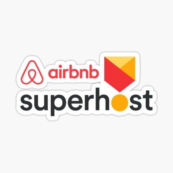 Airbnb Superhost Sticker