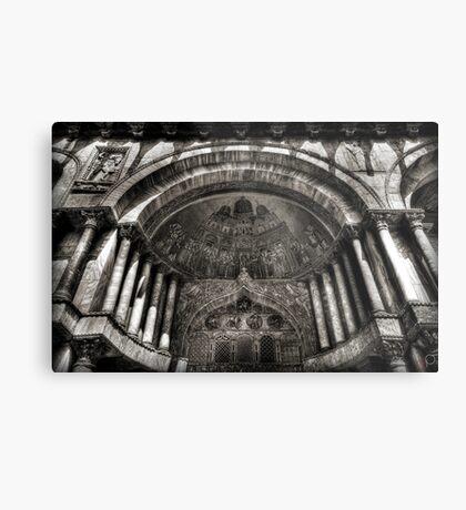 Threshold - St Mark's Basilica, Venice Metal Print