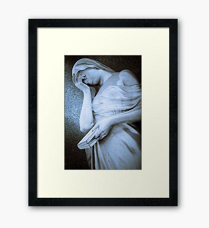 Weeping Framed Print