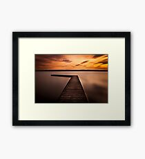 West kirby  Framed Print