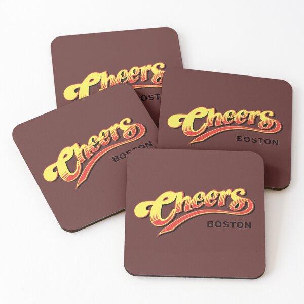 Cheers Boston Retro Vintage  Coasters (Set of 4)
