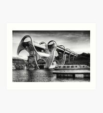 The Falkirk Wheel Art Print