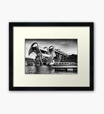 The Falkirk Wheel Framed Print