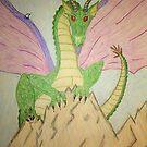 Dragon Mountain by DeeLishess