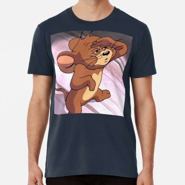 Tom And Jerry Around The Christmas Tree Men/'s T-Shirt