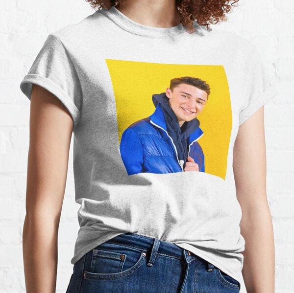 Veste bleue Noah Schnapp T-shirt classique