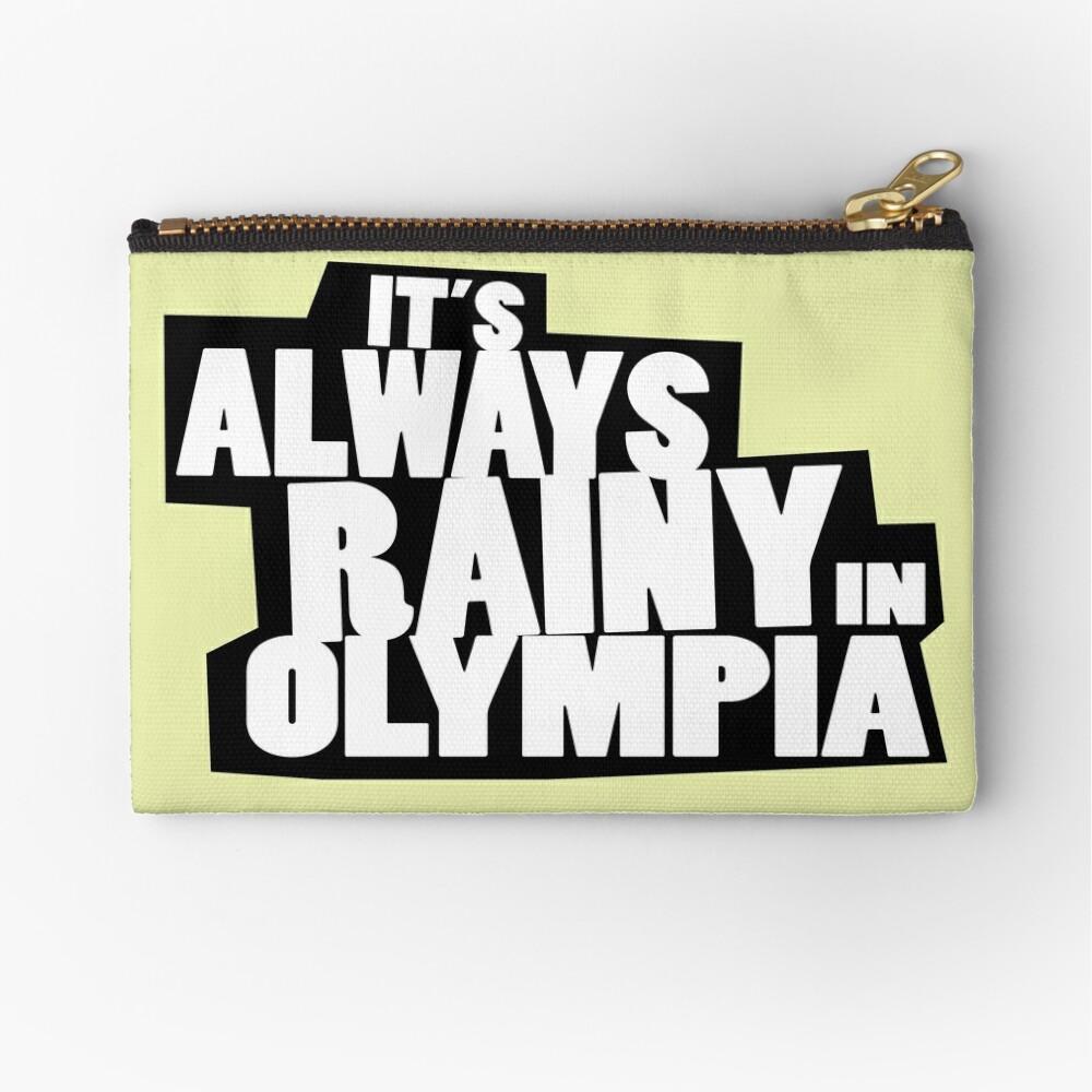 it's always sunny olympia spoof Zipper Pouch