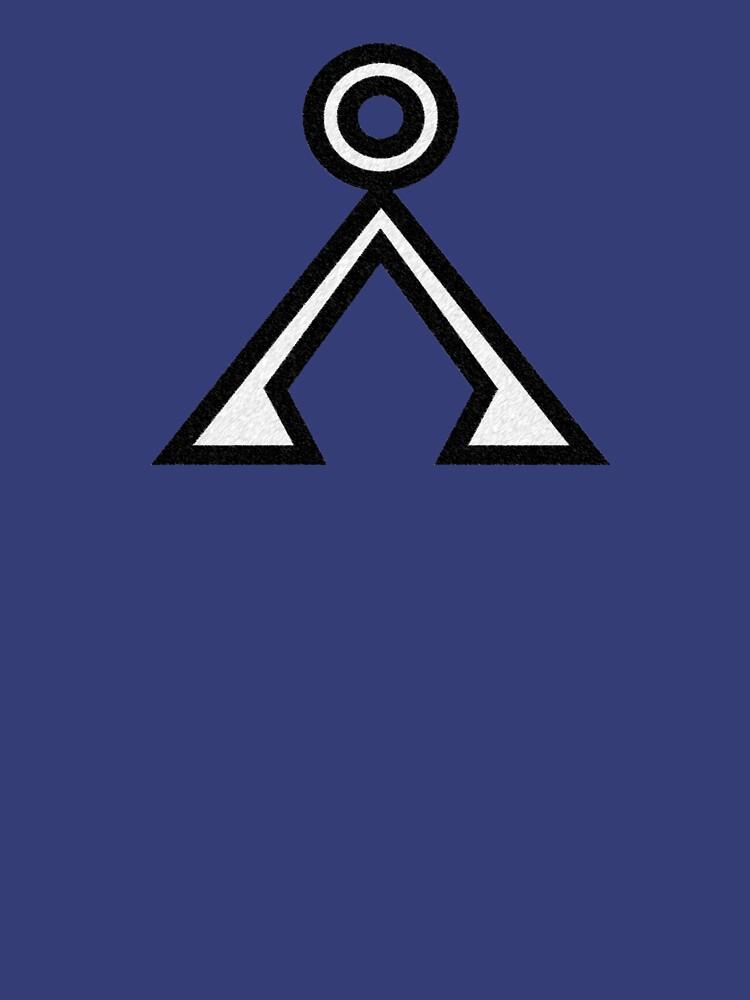 Stargate Earth Symbol | Unisex T-Shirt