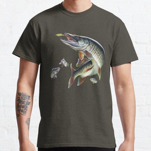 Muskie Fishing Classic T-Shirt
