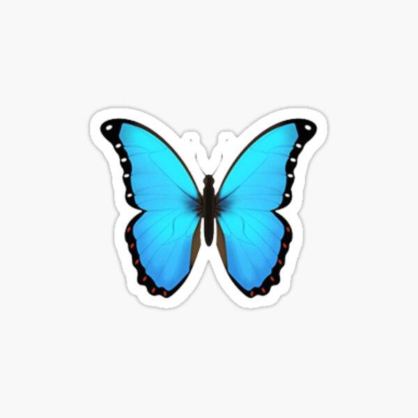 Pegatina Emoji Mariposa Pegatina brillante