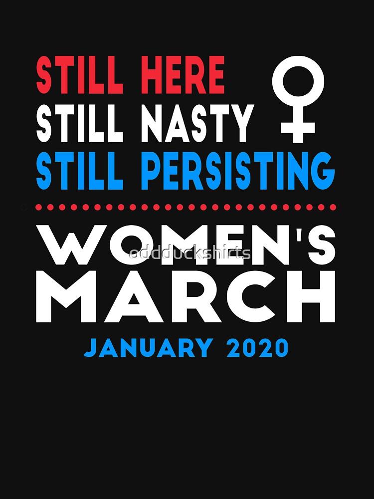Women's March 2020 Washington DC New York Los Angeles San Francisco by oddduckshirts