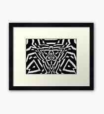 Zone In_ Framed Print