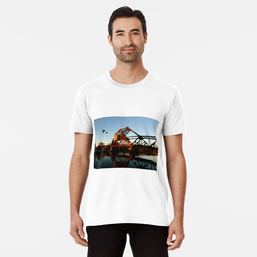 Flight of the Canada Geese Premium T-Shirt