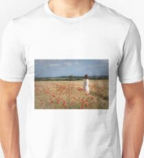 Waiting in the field Unisex T-Shirt