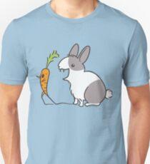 Vampire Bunny Rabbit with Unfortunate Carrot T-Shirt