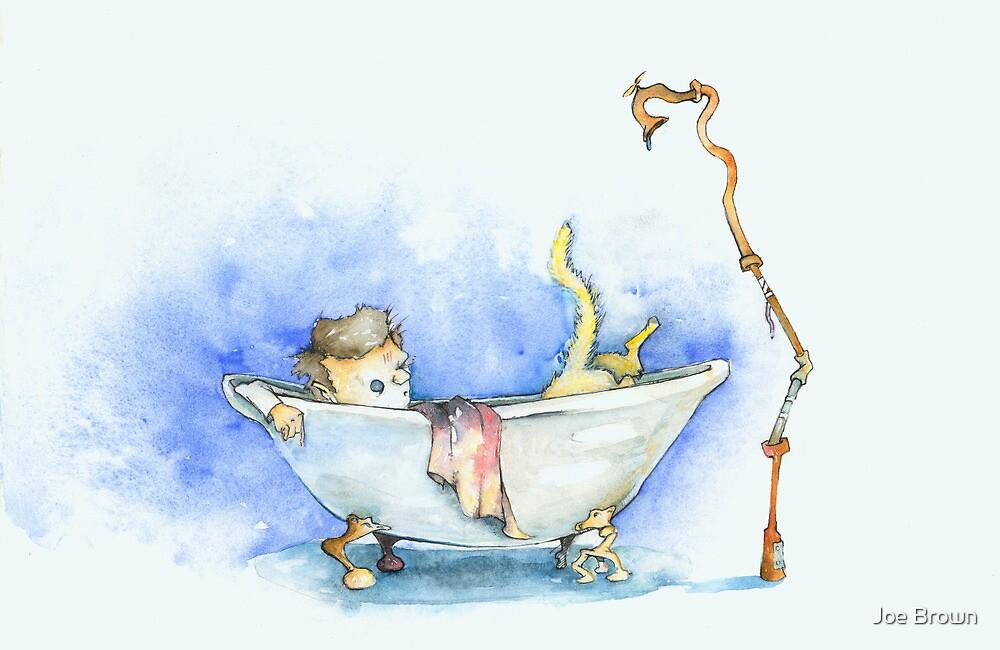 Casey & Kitty: Bath fight by Joe Brown