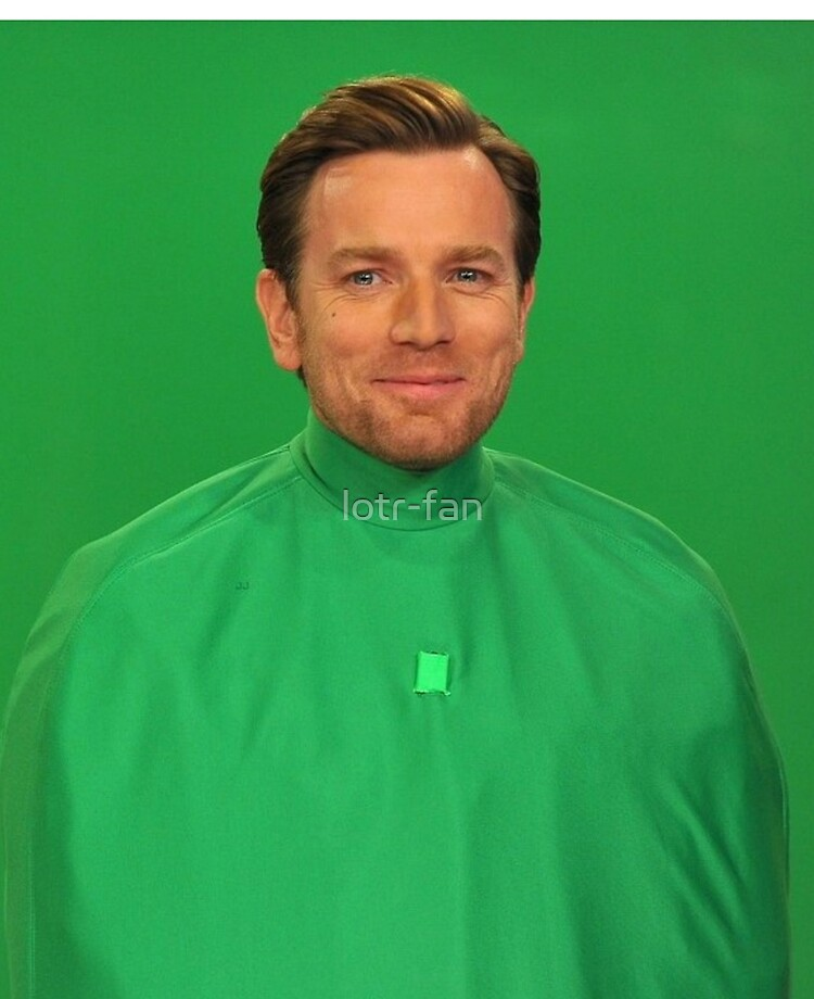 Ewan Mcgregor Wrapped In Green Screen Ipad Case Skin By Lotr Fan Redbubble
