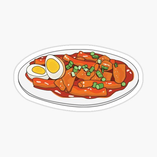 Tteokbokki Sticker Sticker