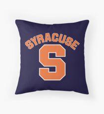Syracuse S - v5 Throw Pillow