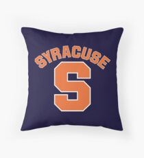 Syracuse S - v5 Throw Pillow