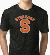 Syracuse S - v5 Tri-blend T-Shirt