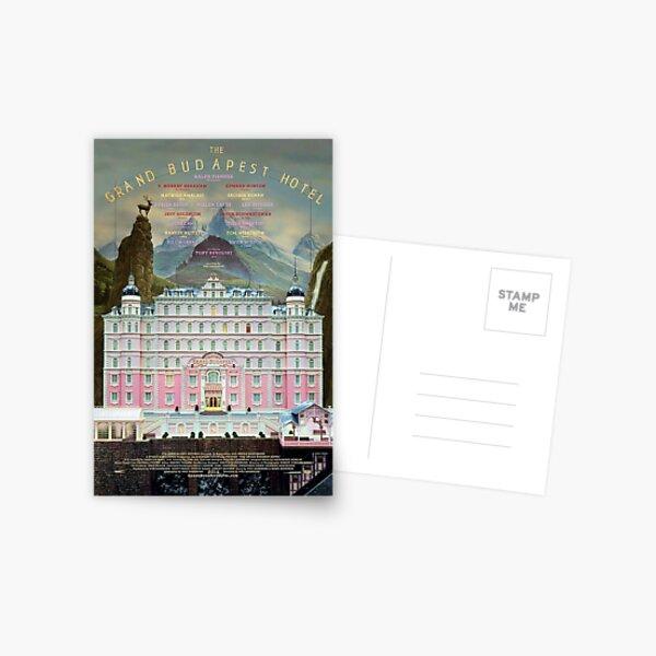 Grand Budapest Hotel Postcard