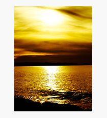 Liquid Gold Photographic Print
