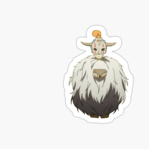 Shin Ah Hairball yona of the dawn Sticker